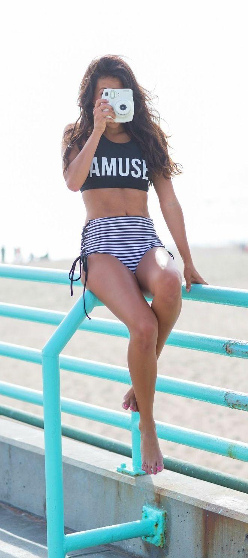 Biquíni de cintura alta ~ Blog da Sophia Abrahão