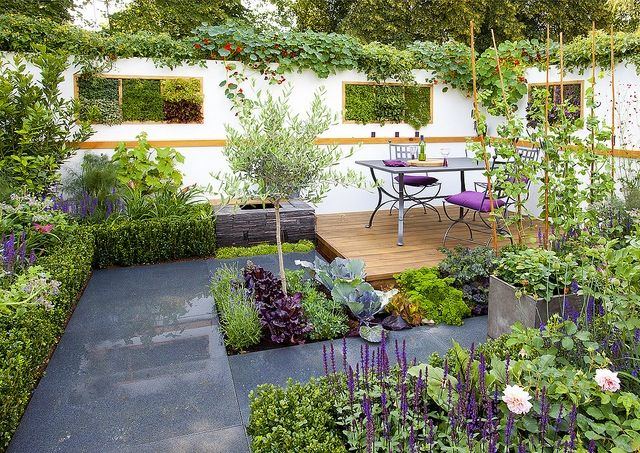 Modern Potager (ornamental vegetable/kitchen garden) RHS 2011 Suzy Woo, Potential Feast