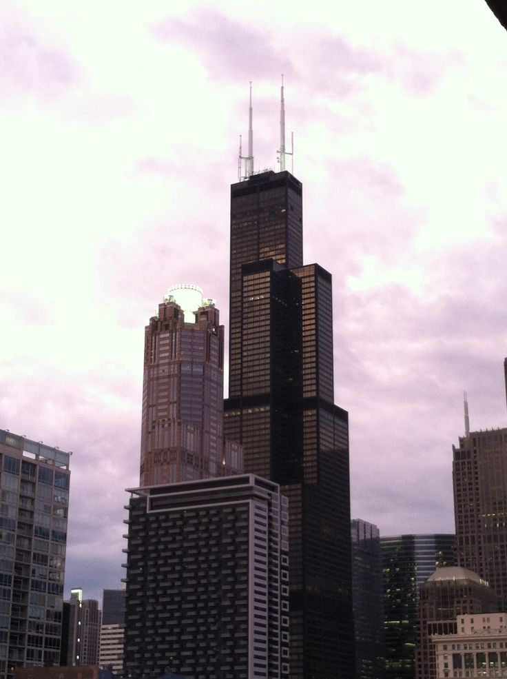 Chicago Map Loop%0A It u    s my last night as a Chicagoan  This view of the Sears Tower is from