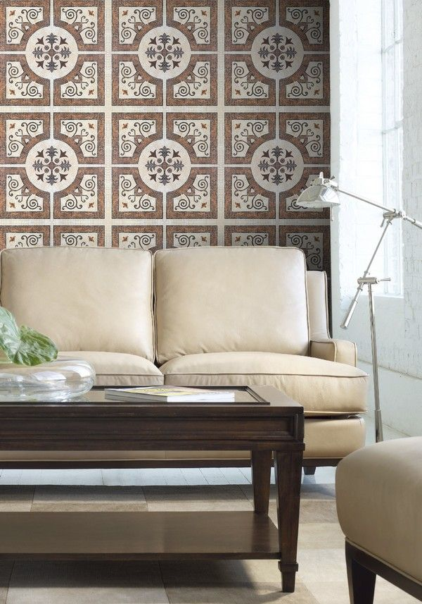 BYZANTINE Wallpaper from Old World Collection by MINDTHEGAP