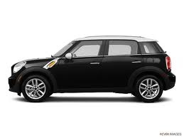 4 Door Mini Cooper Country Man - Black with white top - LOVE! My future car i hope!!
