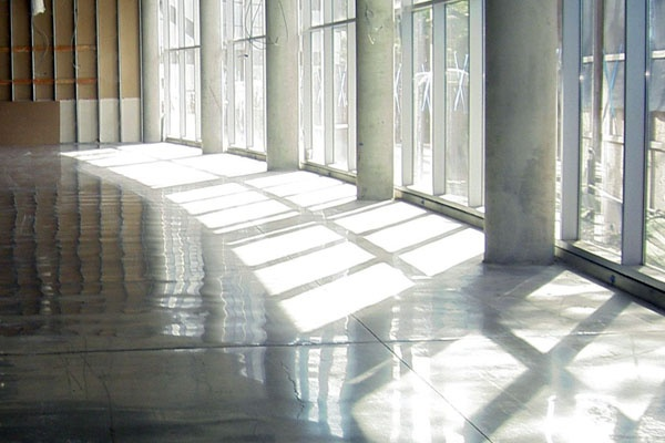 Polished Concrete in Government Building