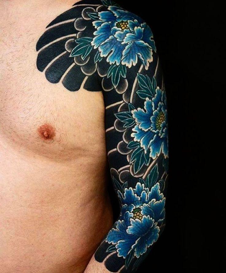 Japanese tattoo sleeve by @dsanchez_unity. #japaneseink #japanesetattoo #irezumi #tebori #colortattoo #colorfultattoo #cooltattoo #largetattoo #armtattoo #chesttattoo #tattoosleeve #flowertattoo #peonytattoo #blackwork #blackink #blacktattoo #wavetattoo #naturetattoo