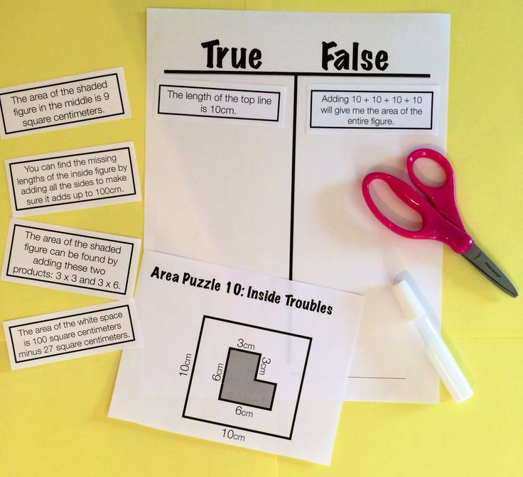 Reasoning Puzzles (Area): Increase math talk in your classroom with these fun puzzles! Students determine the truthfulness of six statements, then get together with a group to defend their thinking and critique the reasoning of others. $