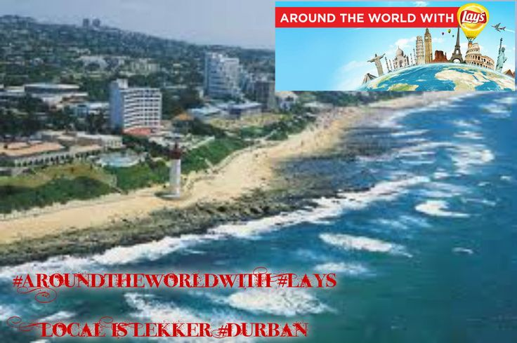 #AroundtheWorldwith #Lays   Local is Lekker #Durban