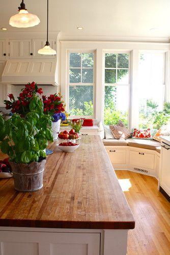 Possible Butcher Block Countertops on the Island?  Avail at IKEA & Lumber Liquidators - or DIY?
