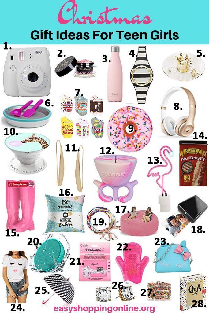30 Christmas gift ideas for teenage girls What teenage ...