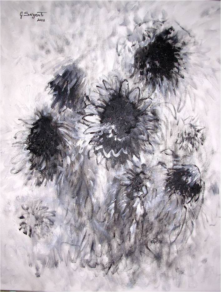 Black-Sun-Flowers