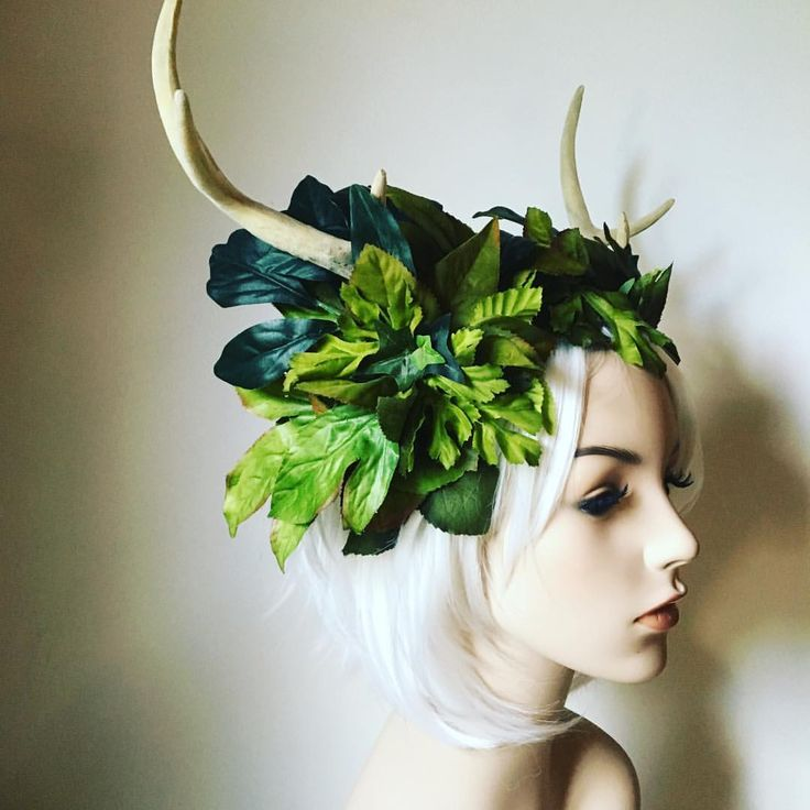 Just made this little cutie. Will be up on the shop later today.  #forest #stag #deer #antlers #headdress #costume #theatre #fae #nature #spirit