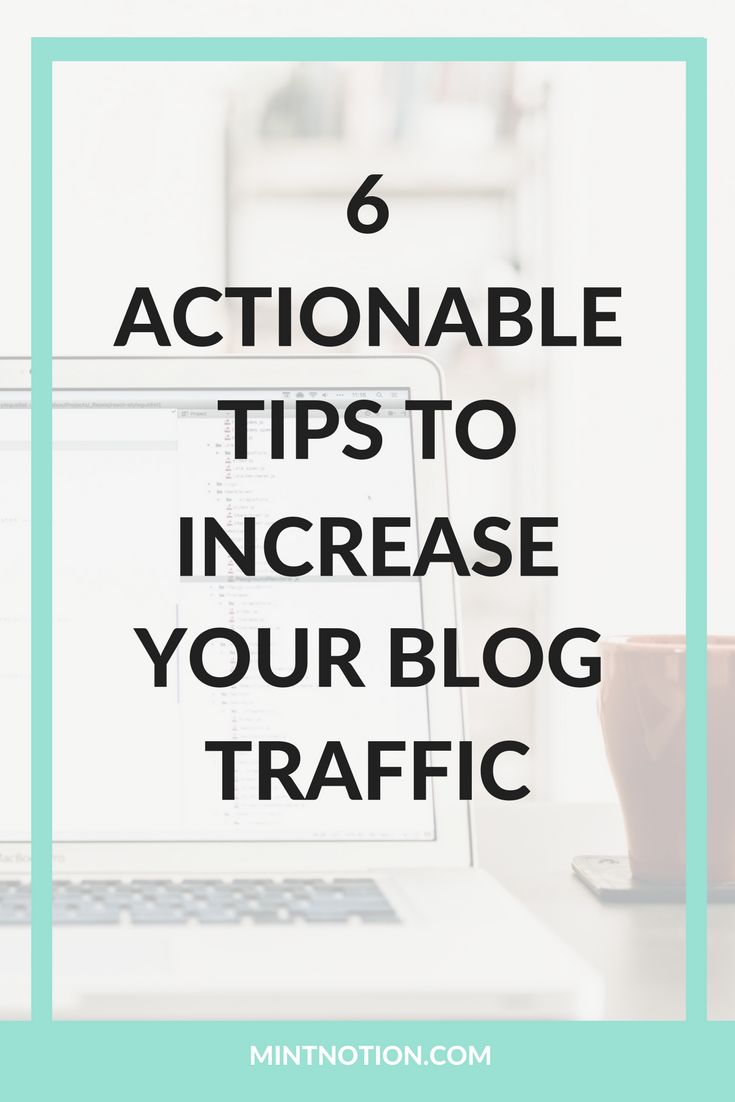 Increase your blog traffic. Grow your blog's readership and business. Grow your traffic with Pinterest.