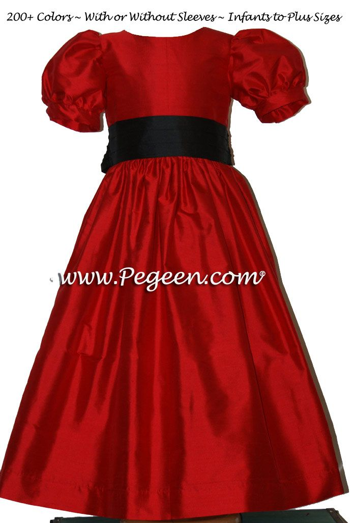 204 best Red flower girl dresses images on Pinterest ...
