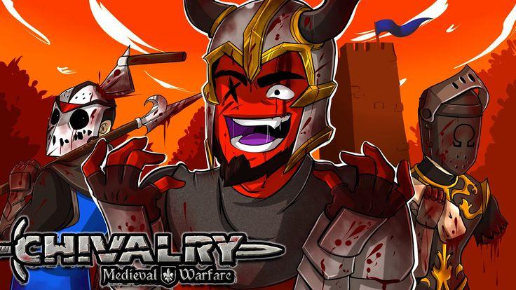 Chivalry: Medieval Warfare | TAG TEAMS BACK AGAIN! (2v2 w/ H2O Delirious...