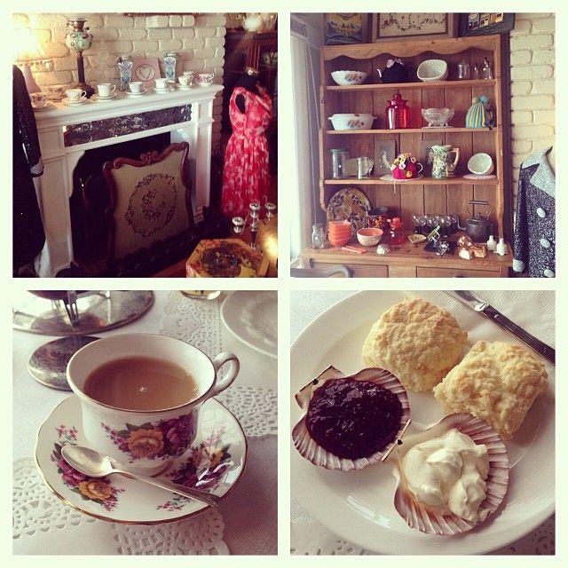 Felicity's Antique Vintage & Tea Room, Swansea. #swansea #tasmania #discovertasmania Image Credit: loveswah