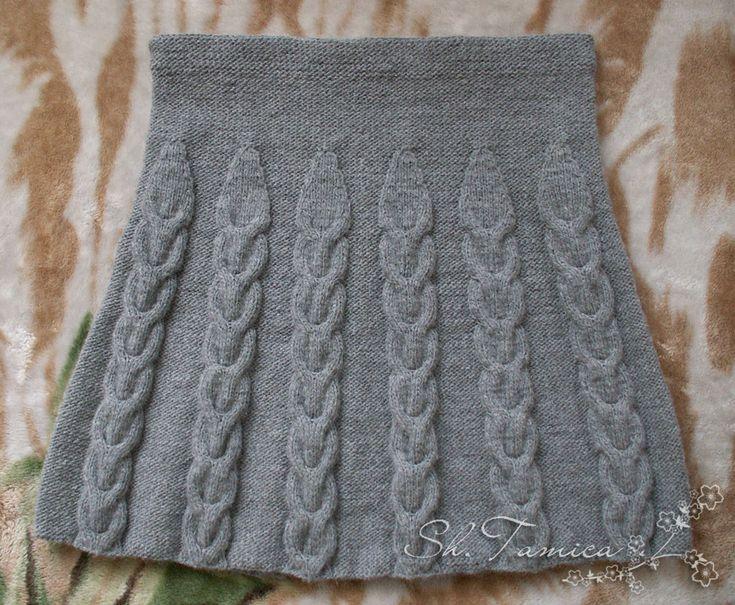 вязаная юбка из Gazzal Artic