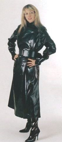 Oh my, yes. Black rubber raincoat is for me