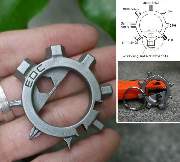 Incredibly Tiny Functional EDC Gadget For Your Keychain