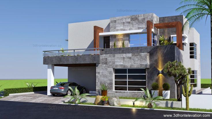 1 Kanal Contemporary House Plan Design Create