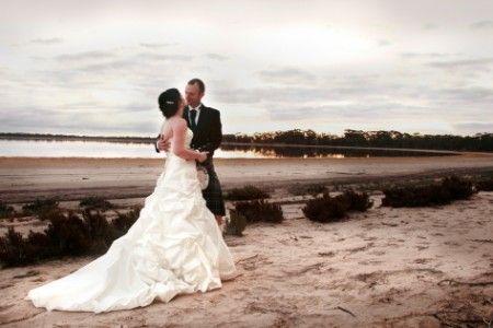 Wedding Photography, bride and groom, Yealering Lake WA
