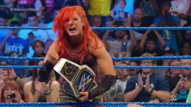 New WWE SD Women's Champion Becky Lynch