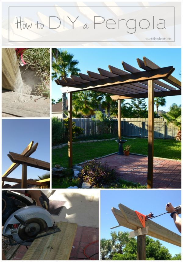 Detailed tutorial on how to build your own pergola and save thousands!