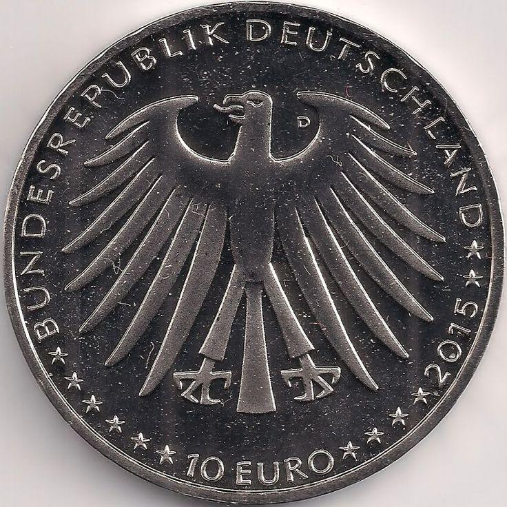 Wertseite: Münze-Europa-Mitteleuropa-Deutschland-Euro-10.00-2015-Dornröschen