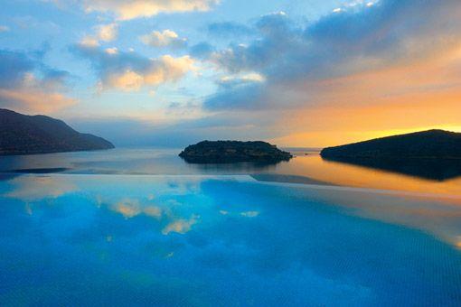Enchanting sunset