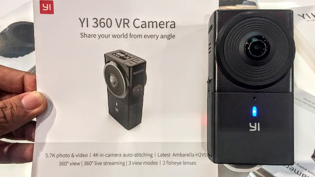 At NAB Show 2017, Yi made two 360-related announcements: the highest video resolution 360 camera for consumers, with 5.7K resolution, and their version of the Google Jump rig called the Halo (which I'll cover in a separate post).  Here are the key specifications and features. Two weeks ago, I posted about a rumor from a …