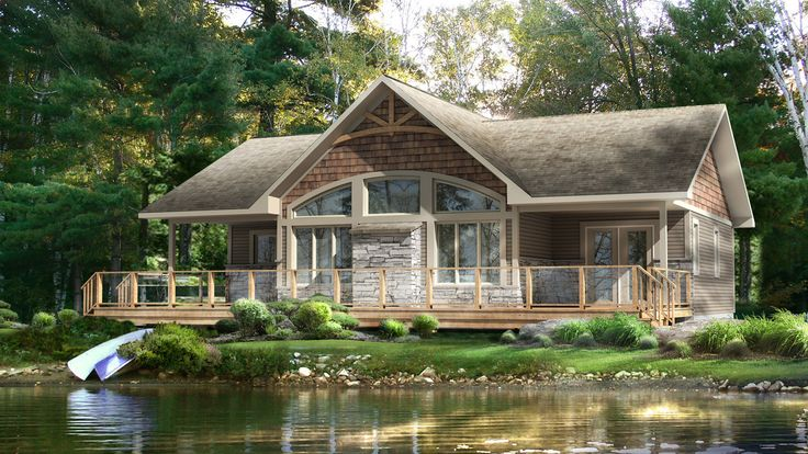 Beaver homes and cottages dorset ii dream homes for Cottage plans home hardware