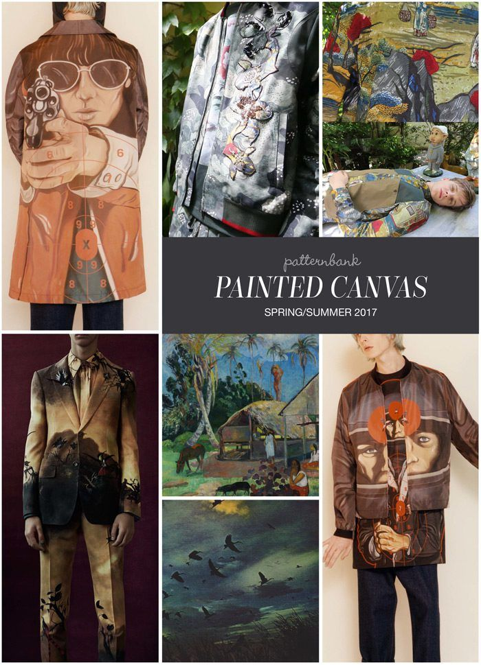 PAINTED CANVAS » Christopher Kane  / Antonio Marras / Antonio Marras / Alexander McQueen / Gauguin / Tumblr / Christopher Kane