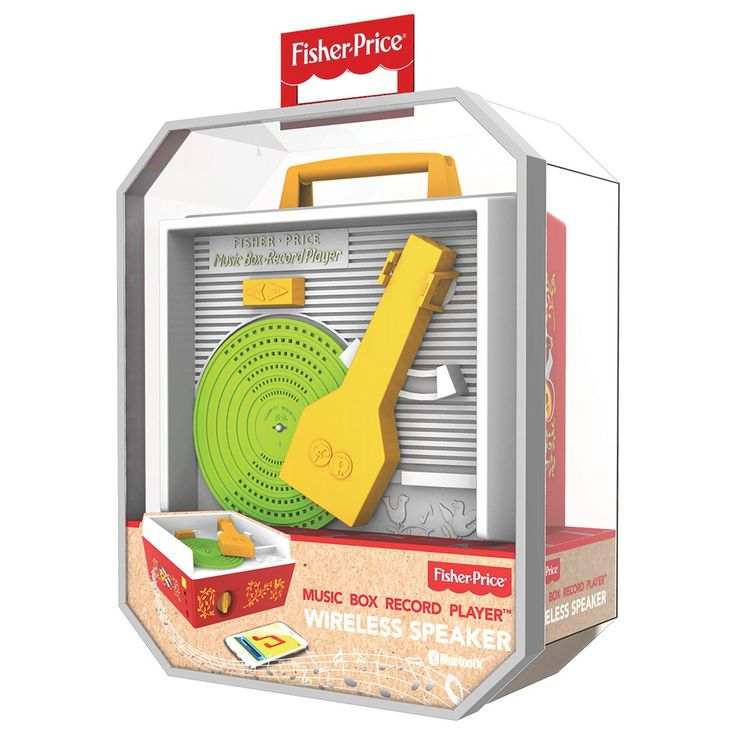Fisher-Price Classic Music Box Record Player Wireless Speaker | Collections | Great Gifts  - Cracker Barrel Old Country Store