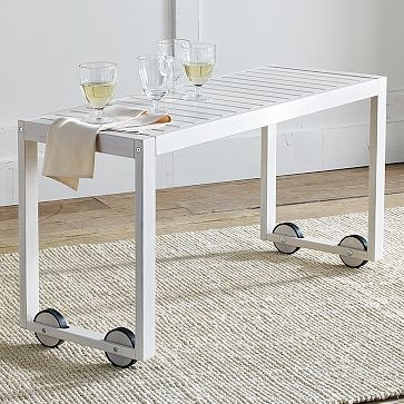 Rolling Table Would Be Useful For Some Many Things Maybe A Tile Top