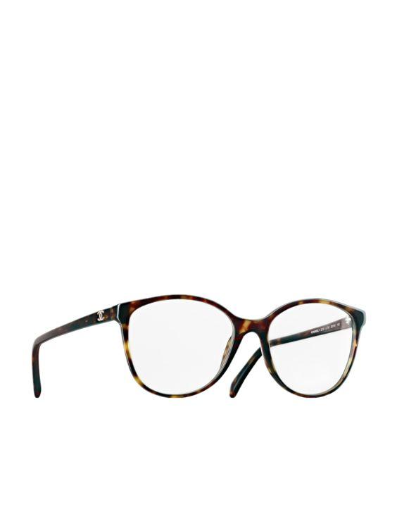 Round oversized acetate eyeglasses... - CHANEL http://ssskye.wordpress.com