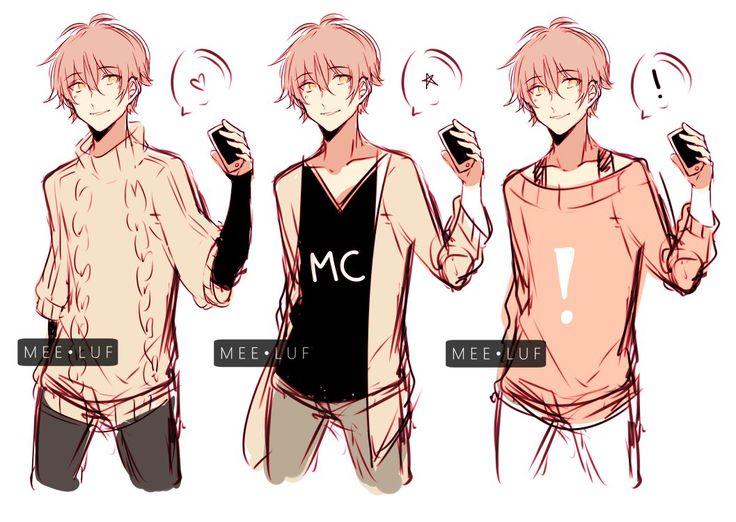 186 best mystic messenger images on pinterest saeran - Anime gamer boy ...