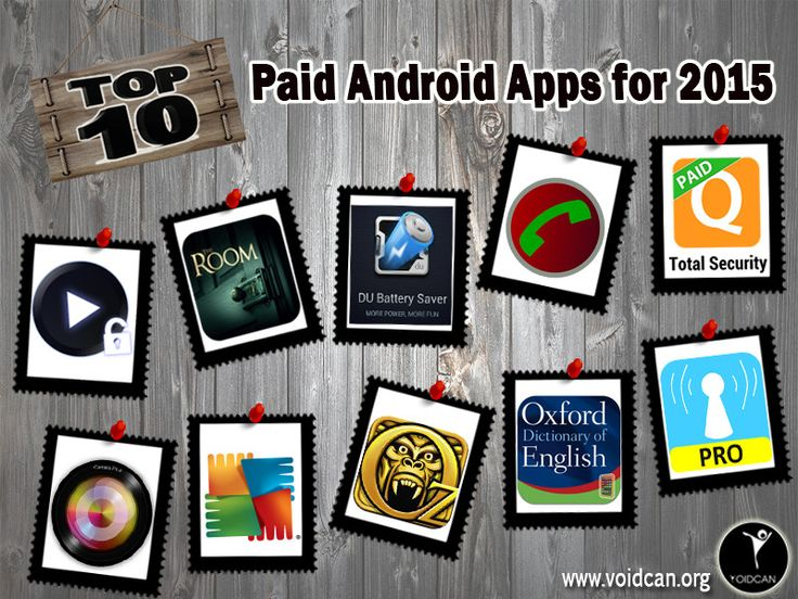 Voidcan.org brings you the list of top ten paid Android apps and all the information regarding apps which makes them best. List is researched by our android expert.