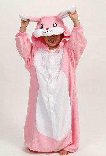 Kids onesies rabbit Kigurumi animal onesies costumes