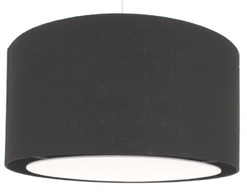Smile black lamp shade