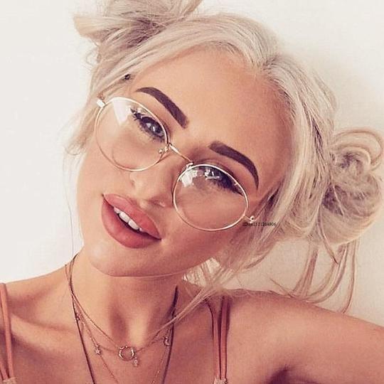 Super Light-weight Retro Glasses Frame Full Rim Gold Eyeglass Frame Vintage Spectacleseosegal – Men Eyewear Frames