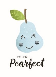 You're pearfect! #Hallmark #HallmarkNL #Valentijn #Valentine #liefde #love #kus #kiss #smak