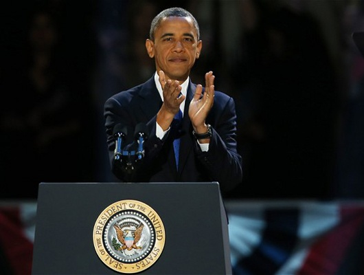Day to day with President Barack Obama