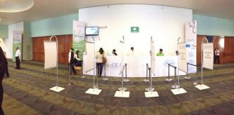 Poken taking green events to the next level at vanguarDIA 2014.