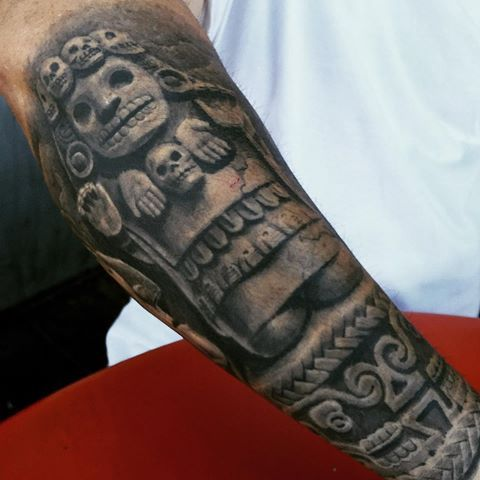 Tatuajes Aztecas Y Mayas Y Su Significado Tattoos Tattoos