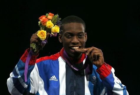 Lutalo Muhammad – Bronze Medal - Men's -80kg Taekwondo