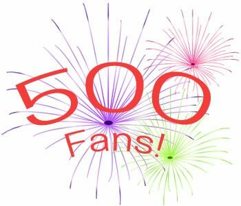 Thanks for 500 fans!!!