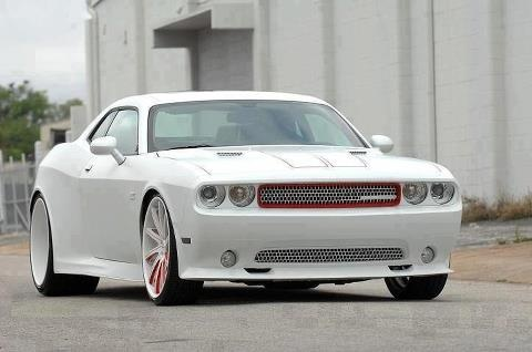 All White Challenger Albino Performance Lets Cruise