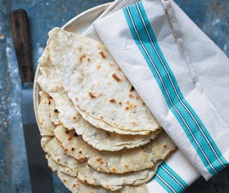Indian-Style Flatbreads Recipe // Phil Vickery's Gluten-Free Baking ...