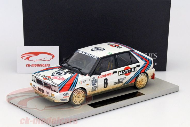 Lancia Delta 4WD, After Race Version, Rally Monte Carlo 1987, No.6, Biason / Siviero. Top Marques, 1/18. Price (2016): 180 EUR.