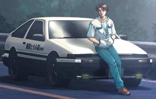 Takumi Fujiwara from Initial D Anime... I really love his Drift Way