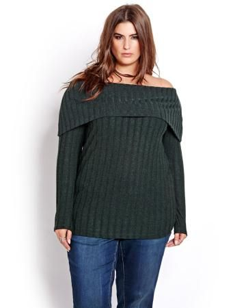 L&L Long Sleeve Marilyn Neck Sweater