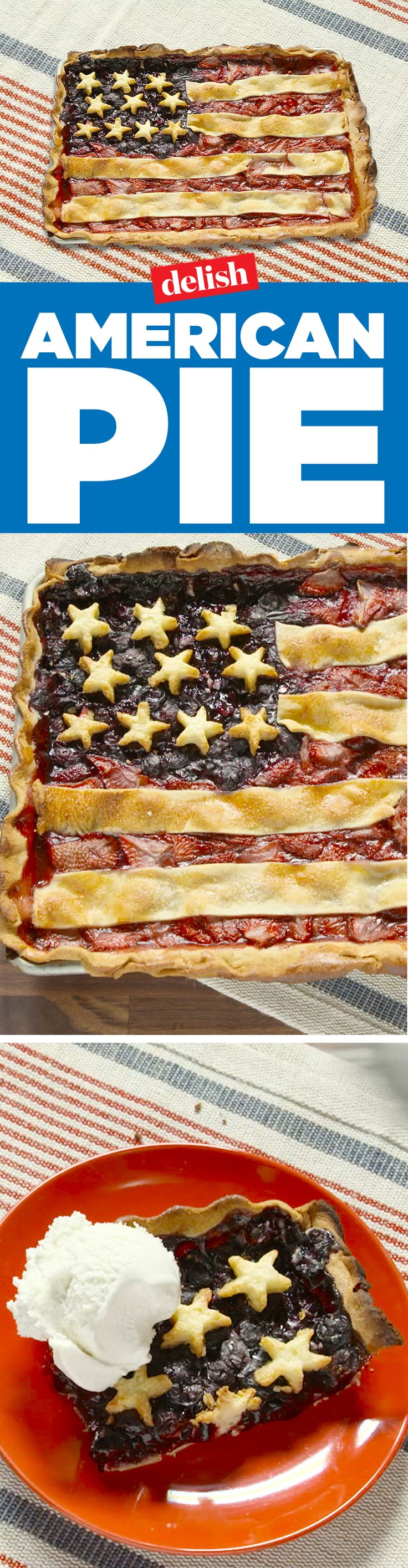 American Pie is the only dessert you should serve on the 4th of July. Get the recipe on Delish.com.