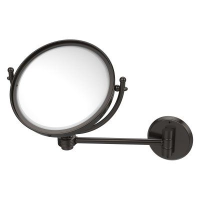 Allied Brass 8 in. Wall Mounted Makeup Mirror with 3X Magnification - WM-5G/3X-ORB, Durable
